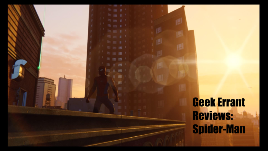Spider-Man Title Card
